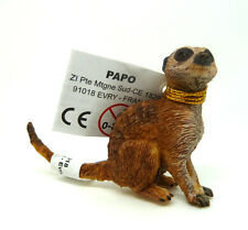 T16) Papo (50207) Erdmännchen sitzend Tierfiguren