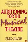 Auditioning for The Musical Theatre 9780140104998 by Fred Silver Paperback