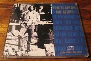 Eric Clapton  No Alibis  Scarce 1990 German Cd Single - <span itemprop=availableAtOrFrom>Birmingham, United Kingdom</span> - Eric Clapton  No Alibis  Scarce 1990 German Cd Single - Birmingham, United Kingdom