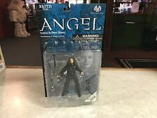 2001 Moore Buffy The Vampire Slayer Figure MOC - FAITH from ANGEL Black Jacket