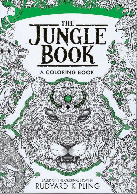 Disney\'s The Jungle Book a Coloring Book Rudyard Kipling | eBay