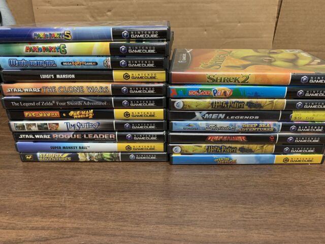 Nintendo Gamecube Lot Mario Party, Luigi, Wario, Zelda Complete NICE!!