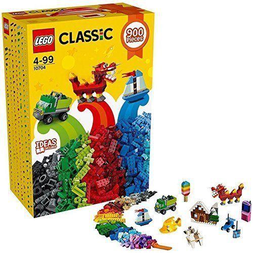 Lego Classic Creative 10704 Box 900 Pieces New