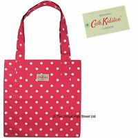 Cath Kidston Tote Bag - 100% Cotton - Spot (red) 100% Authentic