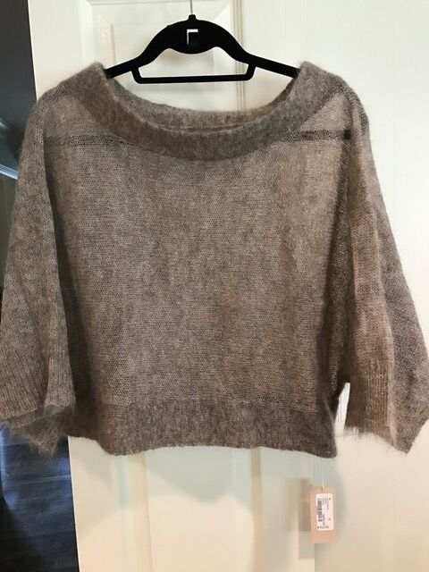 VPL Mohair Wool Poncho - Größe Medium (M) - New with Tags