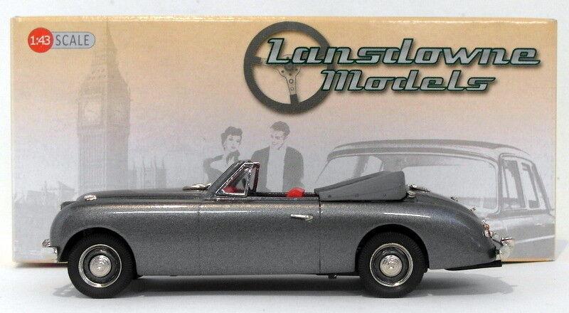 con il 100% di qualità e il 100% di servizio LANSDOWNE modellololi modellololi modellololi in scala 1 43 LDM118 - 1954 Jensen Interceptor 4-Str CONV met grigio  autorizzazione ufficiale
