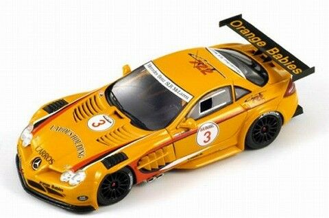 SPARK 1 43 MERCEDES BENZ SLR GT Trophy 2008  3 Orange du Japon