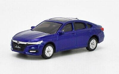 1:43 Scale 10th Generation Honda All New Accord 2018 Blue Diecast model