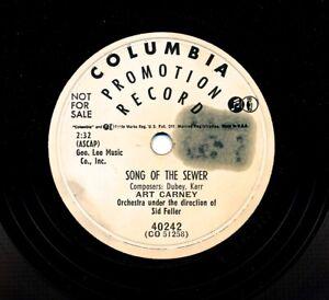 ART-CARNEY-on-1954-Columbia-40242-Promo-Song-of-the-Sewer-Va-Va-Va-Voom