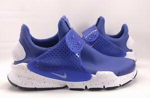 huge discount 4fe44 4c0ee Details about Nike Women's Sock Dart PRM Paramount Blue White Waterproof  [881186-400] size 8