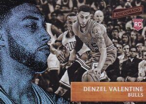 2016-17-Panini-Aficionado-Basketball-Trading-Card-8-Denzel-Valentine-Rookie