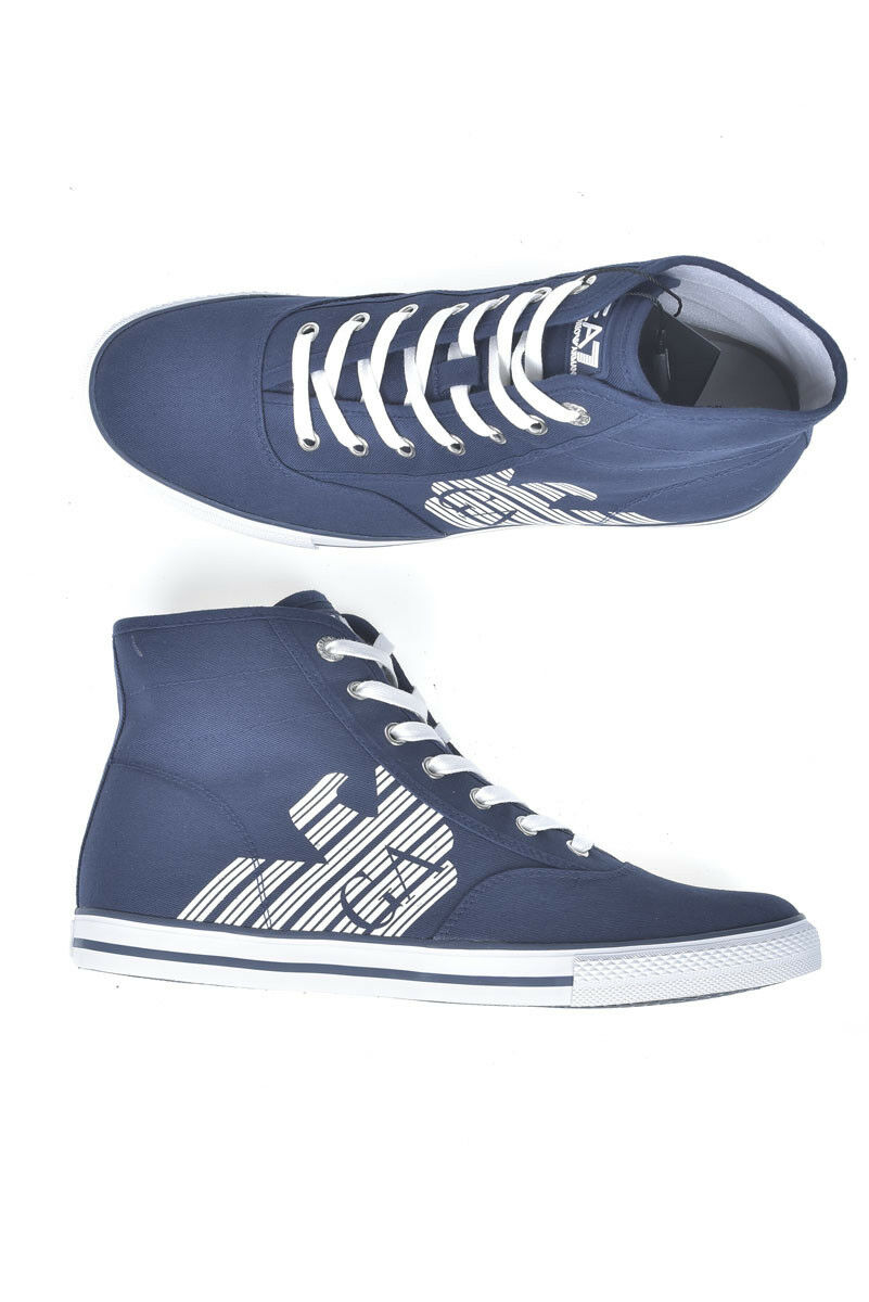 Stivaletti Scarpe Emporio Armani EA7 Ankle stivali Uomo Blu 278076CC299 6935 | Più economico del prezzo  | Uomini/Donne Scarpa