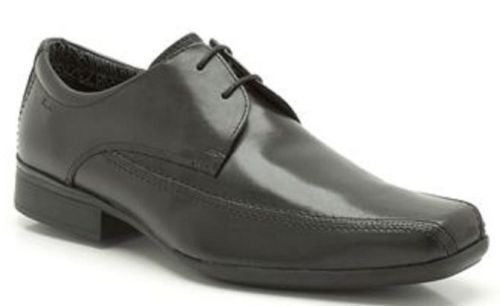 SALE Herren Clarks Smart Schnürschuhe Formell Baze Tag AZE Tag schwarzes Leder