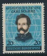 Bund Nr. 155 postfrisch / **, Carl Schurz (18553)