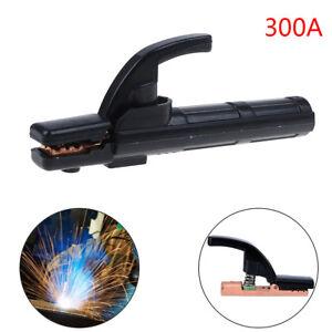 300A Electrode Holder Stick Welder Mini Copper Welding Rod Stinger Clamp Tool