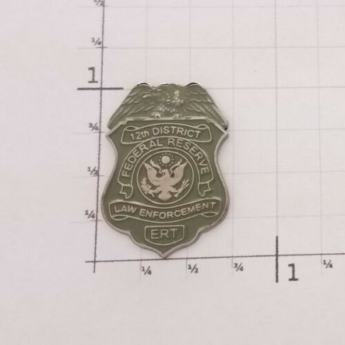 US Federal Reserve 12th District ERT Law Enforcement MINI PIN Response SRT