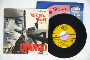 OST(BRUNO NICOLAI) DJANGO SEVEN SEAS HIT-1376 Japan VINYL 7