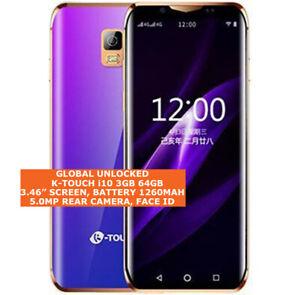 K-Touch-i10-3-Go-64-Go-Quad-Core-5-0mp-visage-Deverrouiller-Android-8-0-LTE-Smartphone-4-G
