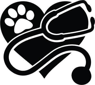 Veterinary Corps Plaque Car Bumper Sticker Decal /'/'SIZES/'/'
