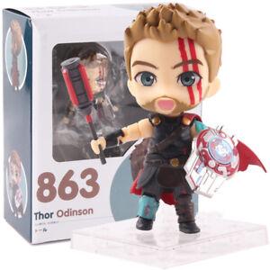 Marvel-Thor-3-Ragnarok-Nendoroid-863-PVC-Action-Figure-Collectible-Model-Toy