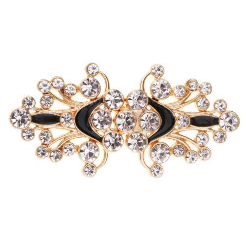 Wedding Bridal Rhinestone Crystal Closure Clasp Hook And Eye Sweater Button
