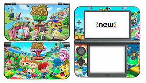 Animal-Crossing-309-Vinyl-Decal-Skin-Sticker-Game-for-Nintendo-New-3DS-XL-2015