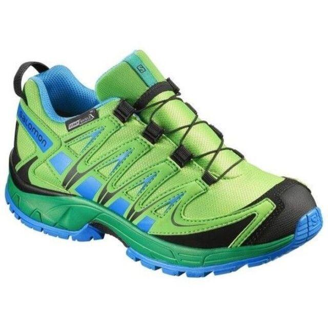 XA PRO 3D MID CSWP K Hiking Shoes Kids