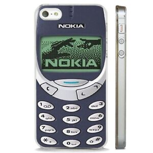 new arrival db8da 42c13 Details about Nokia 3310 Retro Mobile CLEAR PHONE CASE COVER fits iPHONE 5  6 7 8 X