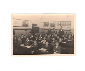 Foto Schönes Klassenfoto / Knabenklasse - Wien 1949