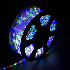 100ft 2 wire led flex rope light xmas holiday party home outdoor item 6 100ft xmas led rope light 110v 2 wire yard home party decorative lighting new 100ft xmas led rope light 110v 2 wire yard home party decorative aloadofball Gallery