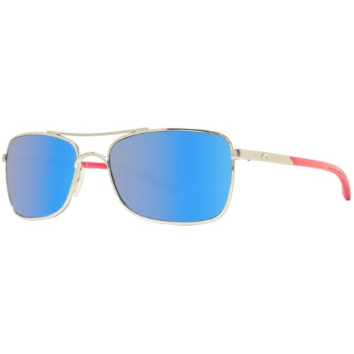 Costa Del Mar Palapa AP83 OBMGLP Palladium//Blue Mirror Polarized 580G Sunglasses