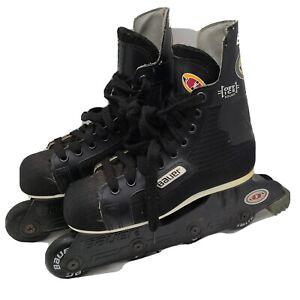 Bauer-Off-Ice-Hockey-Inline-Skates-Roller-Blades-Size-5-Fair-Condition