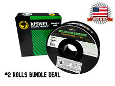 Usa Made 2rolls K Ngs E71t Gs 030 India 10lb Gasless Flux Core Wire Welding