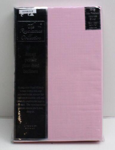 New Luxury Plain Polycotton Box Pleated Valance Sheet Size /& Colour Choice