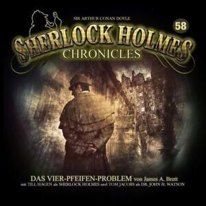 SHERLOCK-HOLMES-CHRONICLES-DAS-VIER-PFEIFEN-PROBLEM-FOLGE-58-CD-NEW