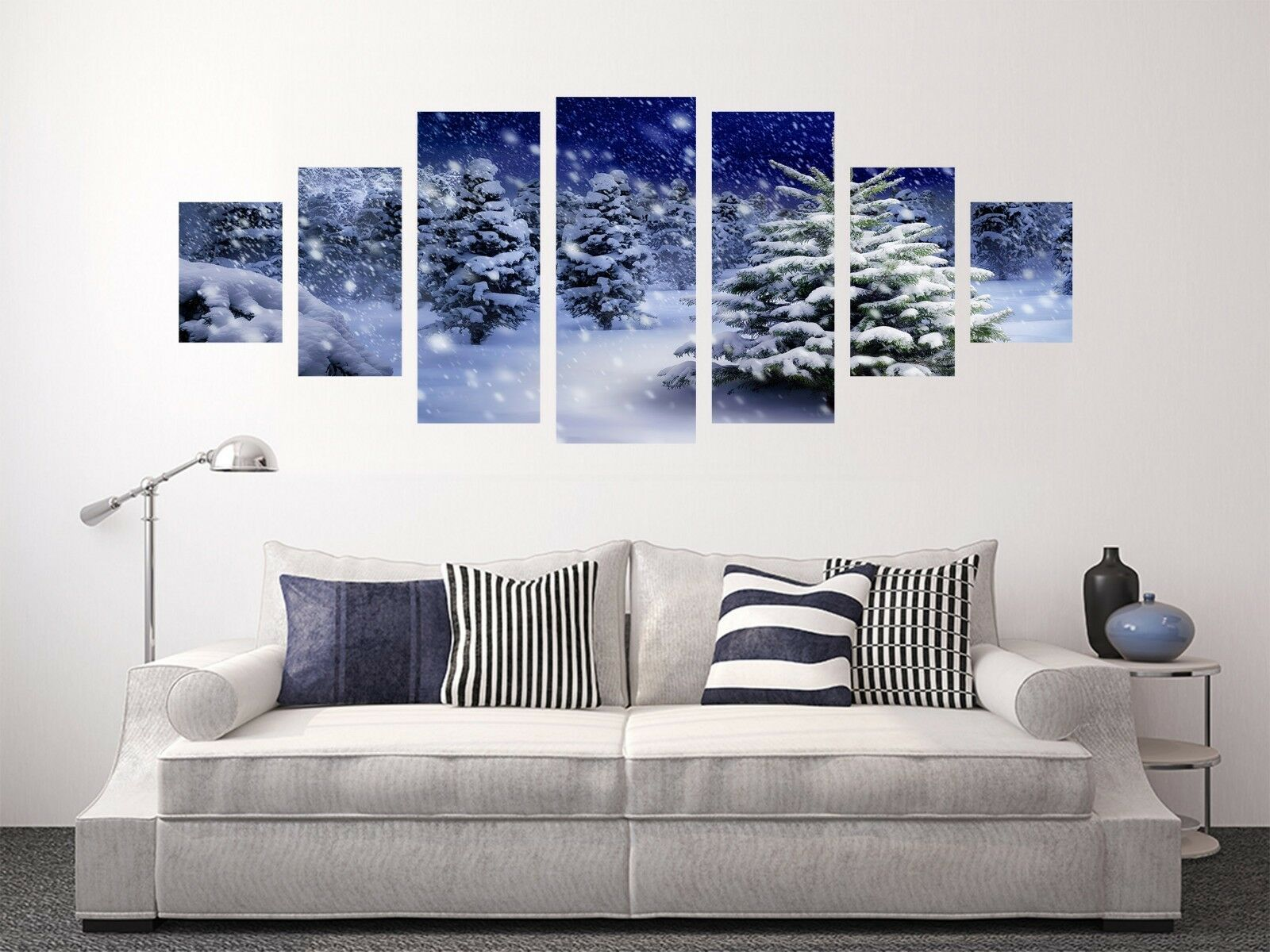 3D Winter Grove 667 Unframed Print Wall Paper Decal Wall Deco Indoor AJ Wall