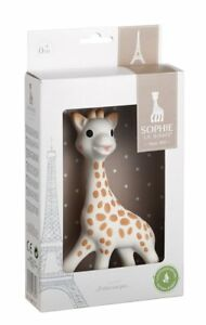 Sophie-the-Giraffe-Teething-Toy-100-Natural-Rubber-Baby-Infant-Kids-Chew