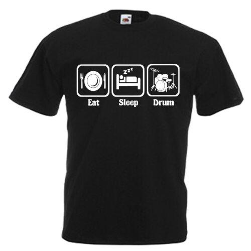 Drummer Drum Kit Children/'s Kids T Shirt