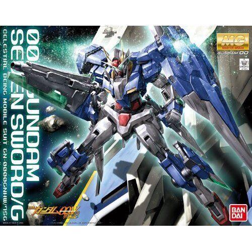 Bandai 1 100 MG GUNDAM OO Gundam Seven Sword G GN-0000 7S Model Kit