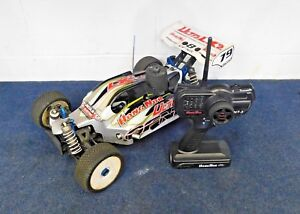 OFNA-Hong-Nor-Nitro-Ultra-LX2-Race-Car-Buggy-Electric-RC-1-8-Scale-w-Remote