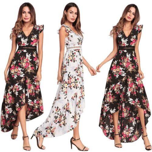 Abendkleid Sommerkleid Maxikleid Partykleid Chiffon rückenfrei TOP Kleid BC545