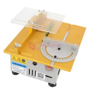 Portable Mini Table Saw/12V-24V DIY Wood Cutting Machine ...