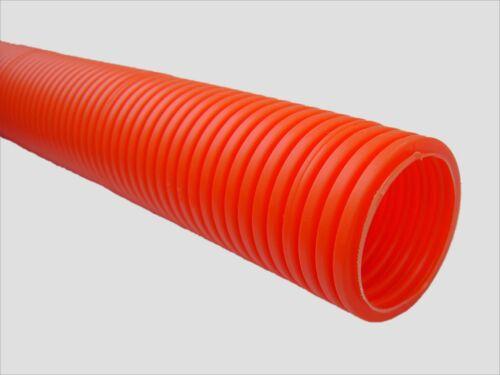 Schutzrohr Wellrohr orange NW17 NW23 selbstverlöschend nicht brandausbreitend