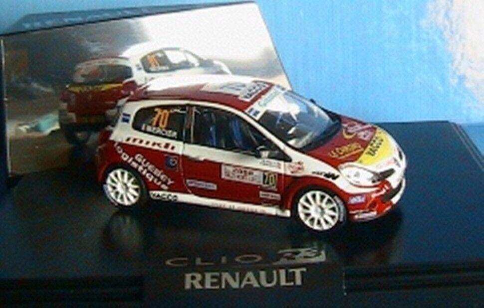 RENAULT CLIO R3  70 MIKLI MERCIER RALLYE MONTE CARLO 2008 NOREV 1/43 VERET