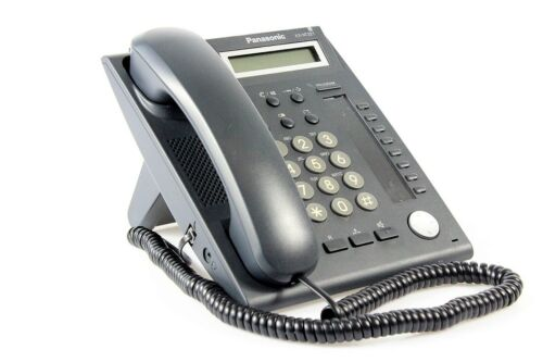 Panasonic KX-NT321 IP-Systemtelefon schwarz