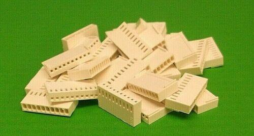 "50pcs contacts 0.1/"" Type Molex Loquet x 6pcs Housing 20 Way 2.54 mm Crimp soudure"