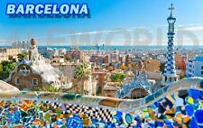 MAGNETE in pvc rigido BARCELLONA BARCELONA SPAGNA SPAIN SOUVENIR CALAMITA MAGNET