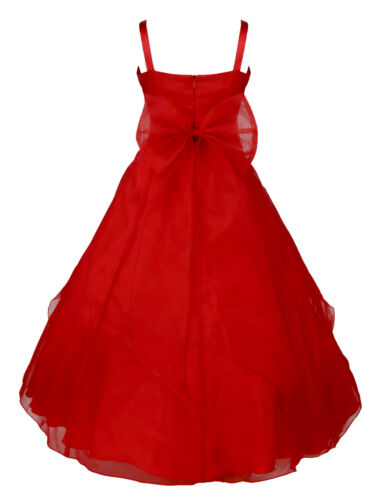 Flower Girl Princess Sequins Dress Toddler Baby Wedding Fancy Party Tutu Dresses