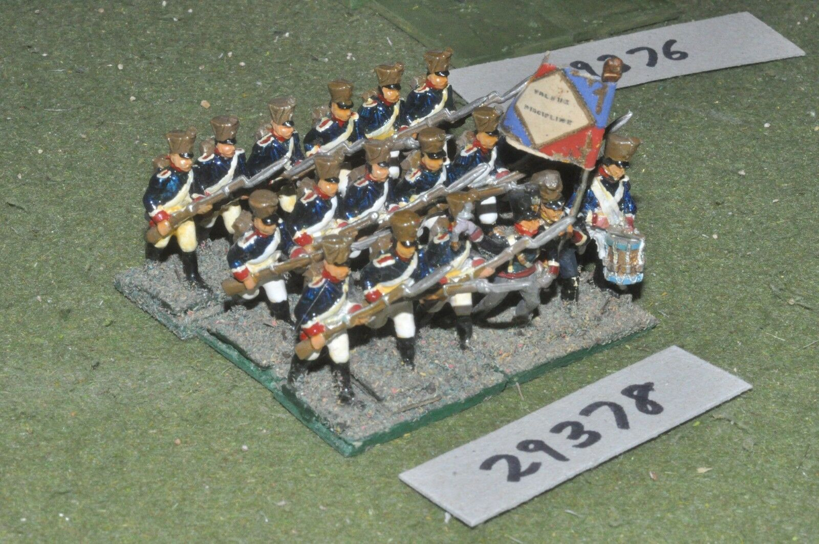 25mm napoleonic   french - guard 18 figures - inf (29378)