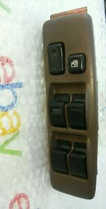 Toyota-Camry-Driver-Master-Power-Window-Switch-Left-Side-BROWN-92-93-94-95-96